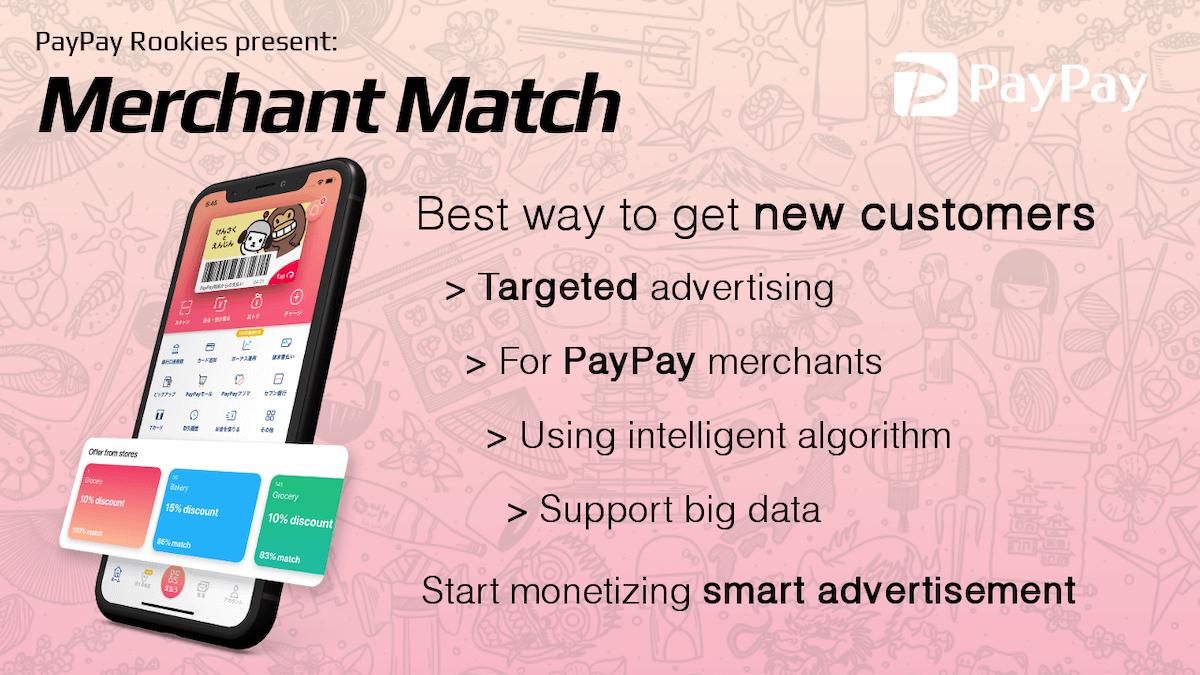 Merchant Matchの紹介画像