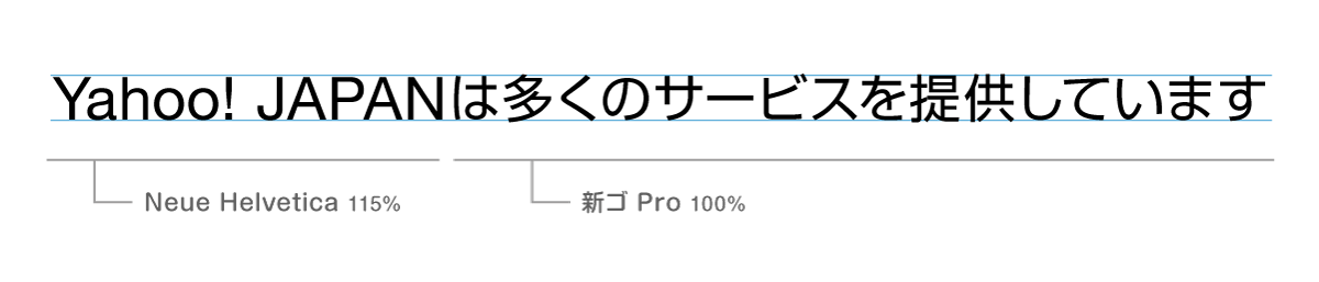 フォントサイズ比較_調整後