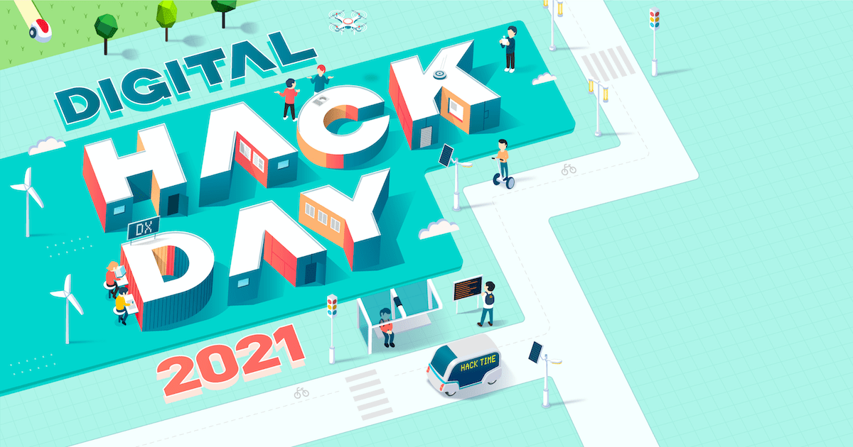 Digital Hack Day 2021 テクノロジー紹介イベント