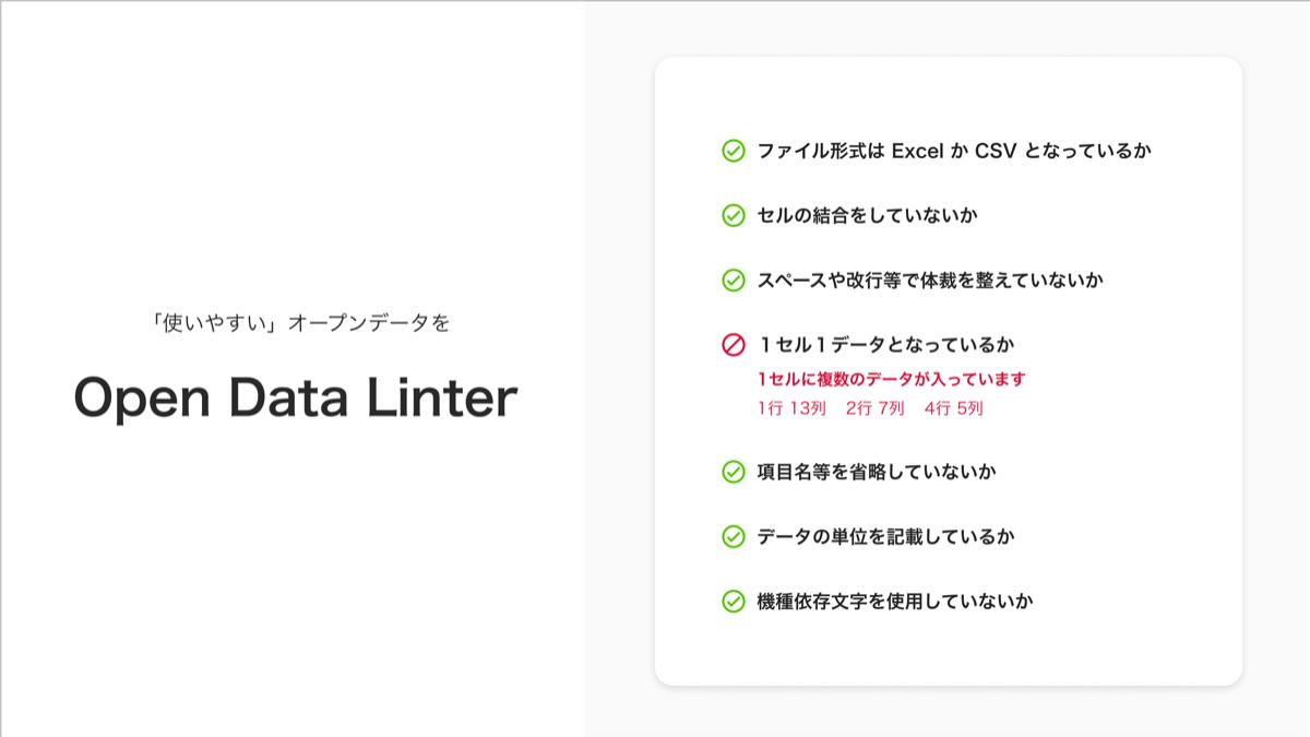 Open Data Linterの紹介画像