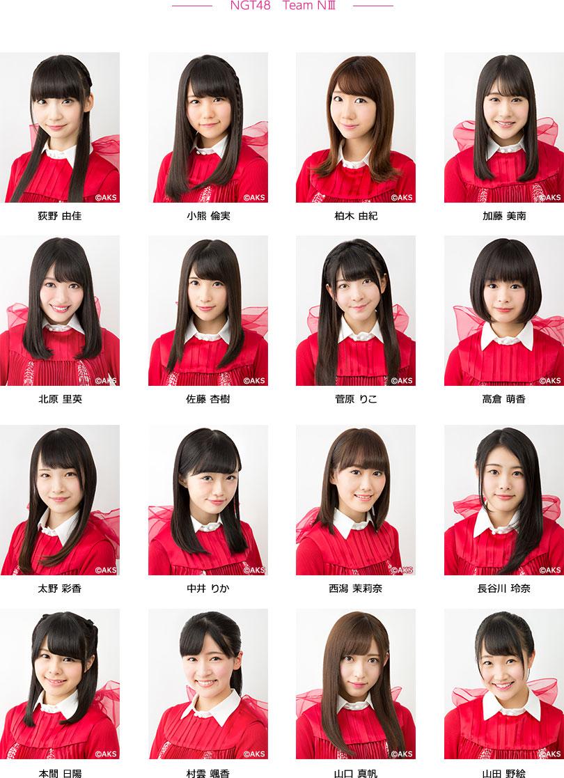 NGT48 Team NⅢ