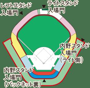 大宮開催 座席図