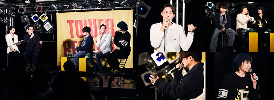 TOWER RECORDS『OBLIVON DUSTスペシャルLIVE TALK』