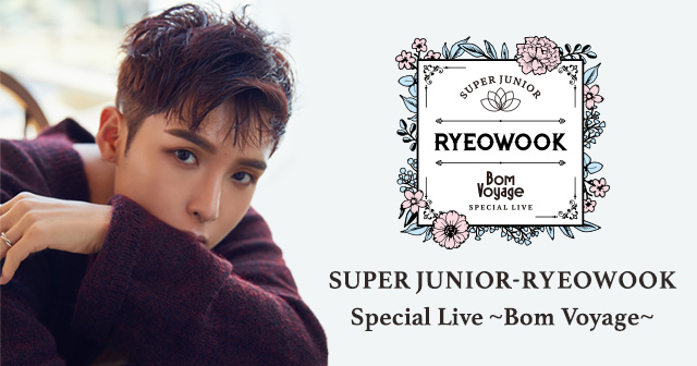 SUPER JUNIOR-RYEOWOOK