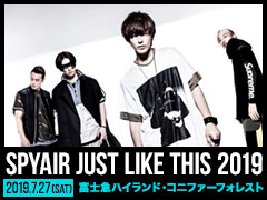 SPYAIR/JUST LIKE THIS 2019