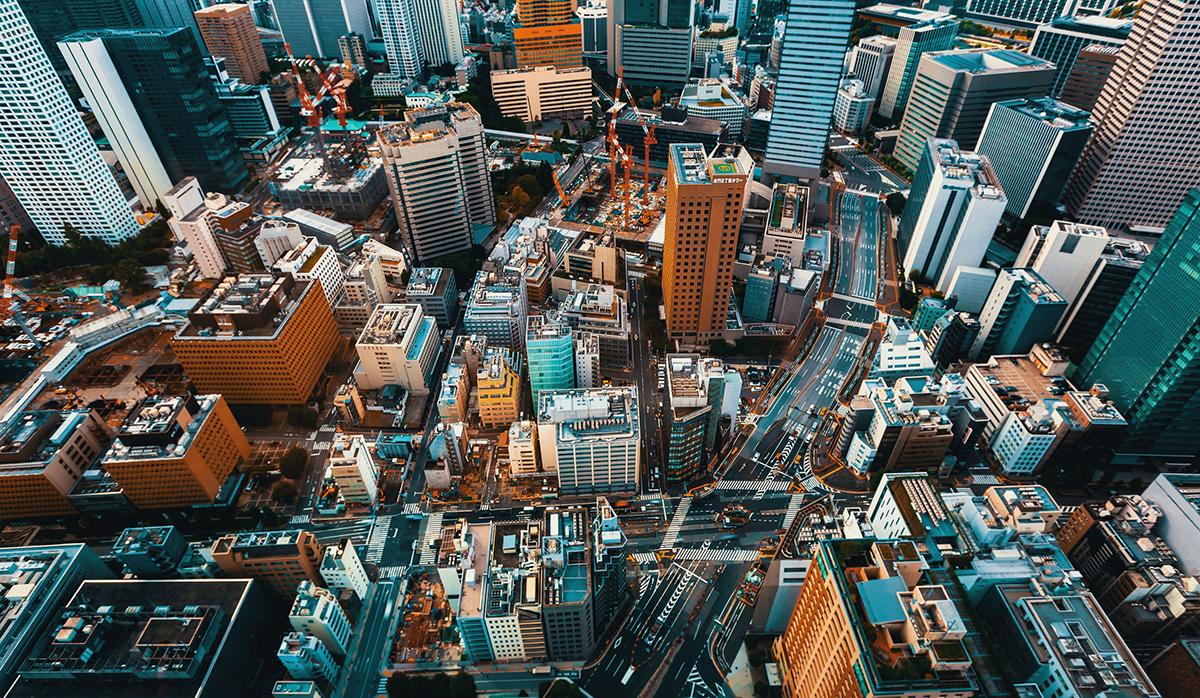 東京都心の混雑(写真:アフロ)