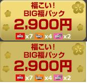 福こい!BIG福パック 2900円