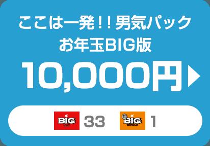 ここは一発!!男気パックお年玉BIG版 10,000円
