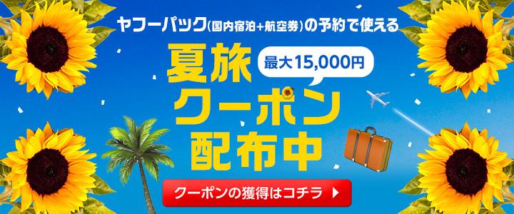 最大15,000円お得なクーポン配付中