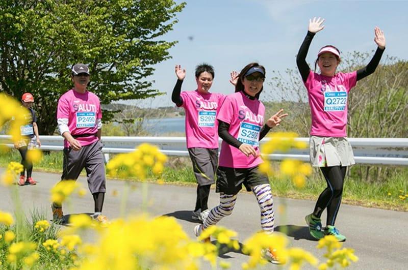 東北風土マラソン オンラインボランティアの写真