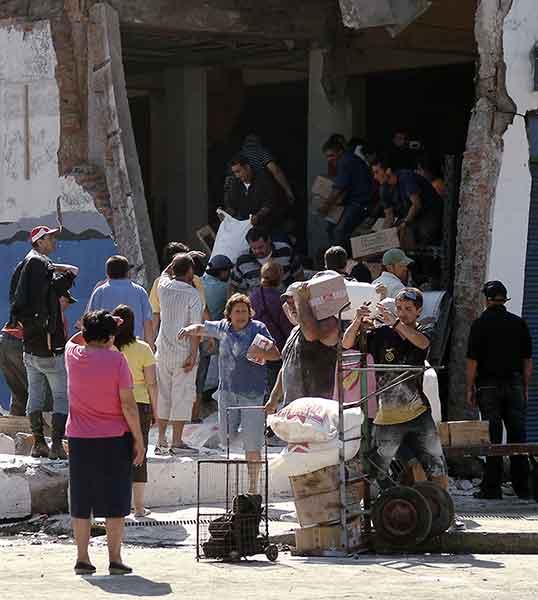チリ巨大地震:マグニチュード8.8