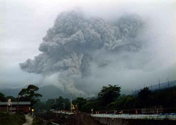 雲仙・普賢岳噴火災害