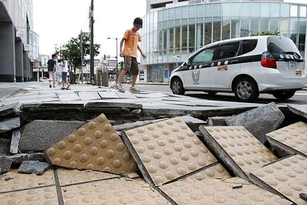 新潟県中越沖地震:(2007年7月16日)