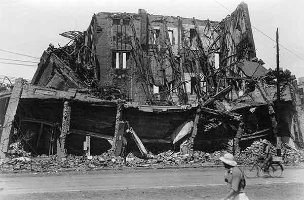 関東大震災:日本橋丸善(1923年9月)