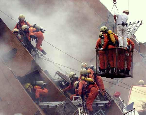 台湾大地震(1999年9月22日)