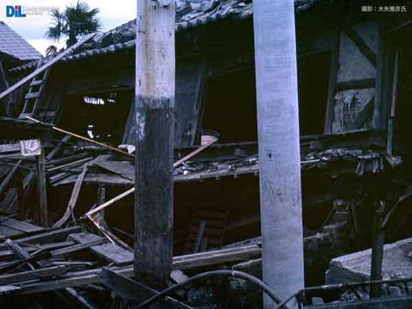 港区築三町 高潮による決壊 1959.10.10