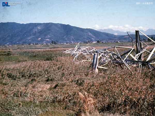 高圧線の倒壊 1959.10.11