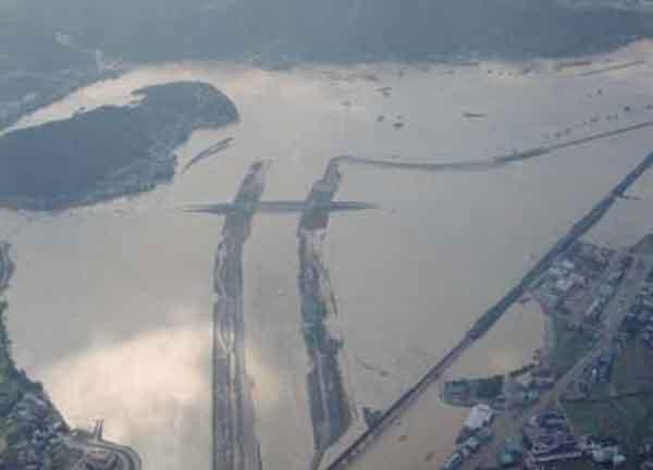 京都府福知山市大江町浸水状況