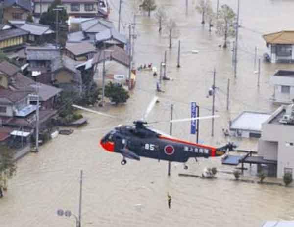 京都府舞鶴市志高浸水状況