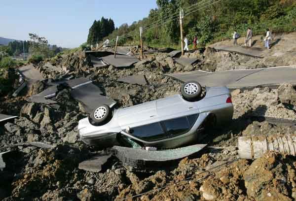 新潟県中越地震(2004年10月24日)