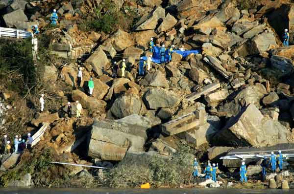 新潟県中越地震(2004年10月28日)