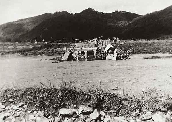 福井県小浜市丸山橋被害状況