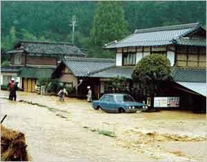 昭和58年台風10号と秋雨前線(1983年9月24日) | 災害カレンダー ...