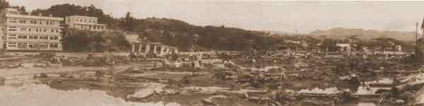 さつま町被害状況:死者・行方不明者(8名)、家屋全半壊・流出(472戸)、床上浸水(695戸)、床下浸水(1,399戸)