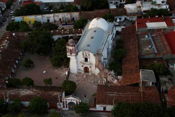 メキシコ沿岸でM8超の地震