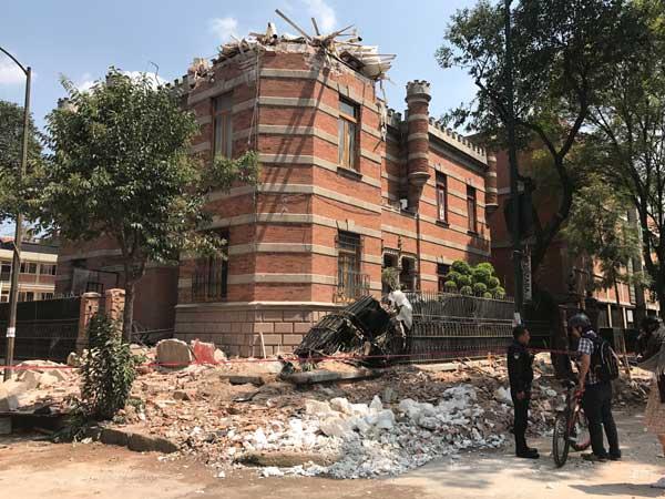 メキシコでM7.1の地震