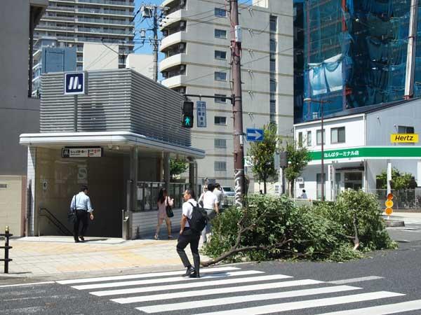 台風21号 日本列島を縦断