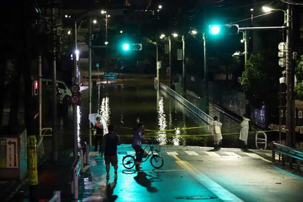 大型台風19号 本州に上陸 東京都・世田谷区