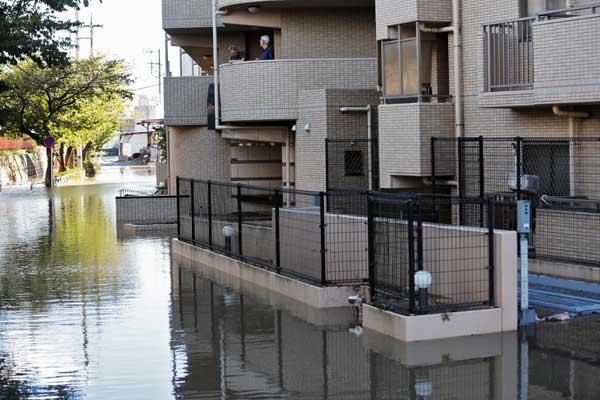 台風19号、東日本各地に被害 神奈川県・川崎市