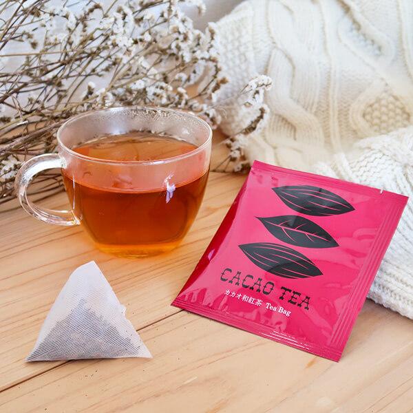 カカオ和紅茶の写真