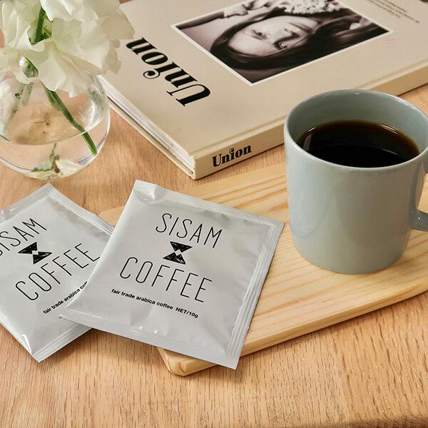 シサム工房のコーヒーの写真