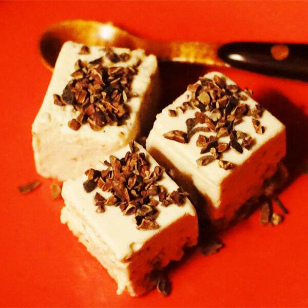 低糖質 赤ワインチーズケーキの写真