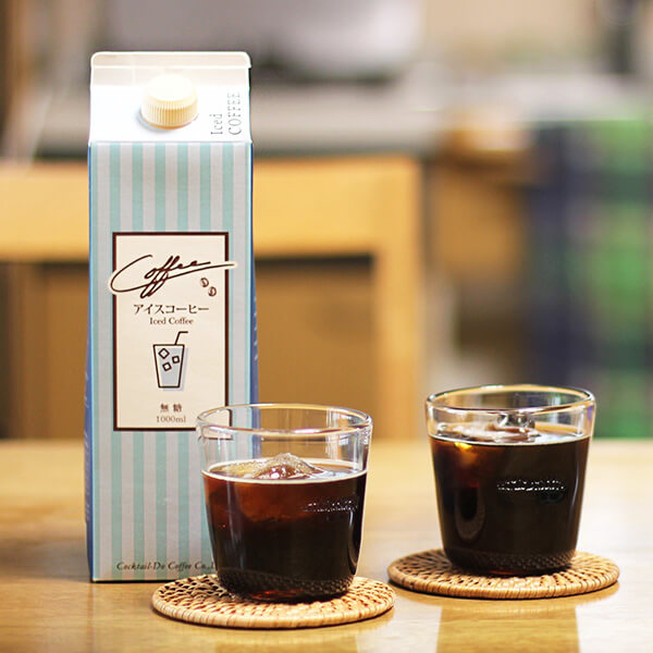 無糖リキッドアイスコーヒーの写真