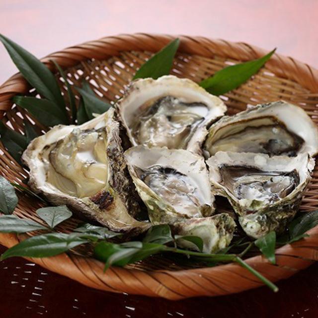 九十九島 殻付牡蠣の写真