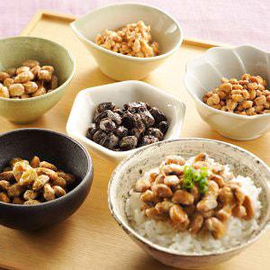 秋田の手作り納豆の写真