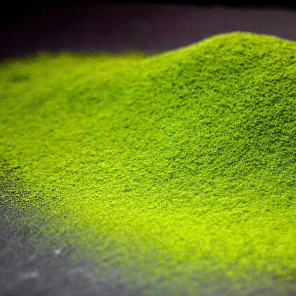 有機 玉露粉末茶の写真