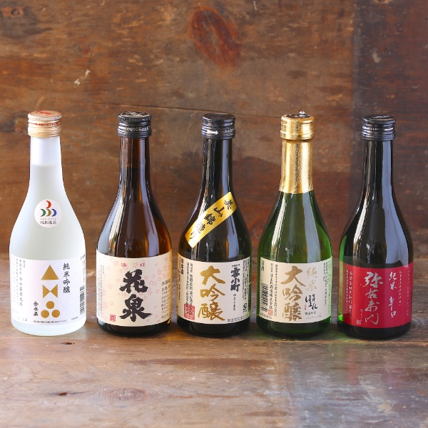 福島の酒 飲み比べの写真