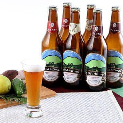 宮城の地ビール3種の写真