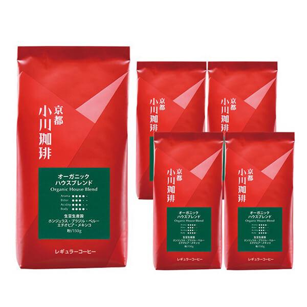 有機JAS認証コーヒーの写真