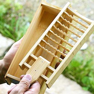 竹製大根おろしの写真