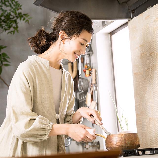 神山まりあさんの、ほんわか幸せレシピ【甘酒を使った新しい一汁一菜】の写真
