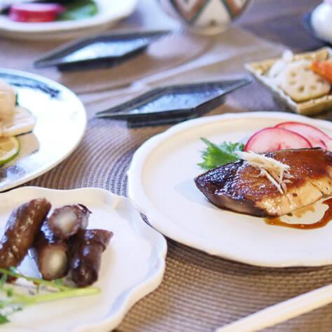 オーガニックで彩るおせち料理<br>ブリやホタテのメインレシピ3品
