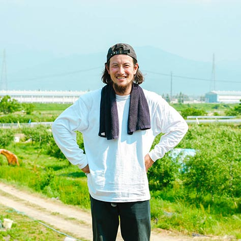 畑の半分、収入の8割が流された<br>長野県・豊野地区で持続可能なリンゴ栽培を目指すの写真