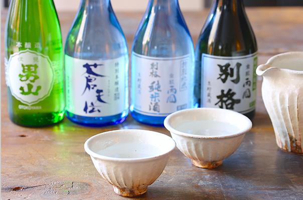 気仙沼の銘酒4種