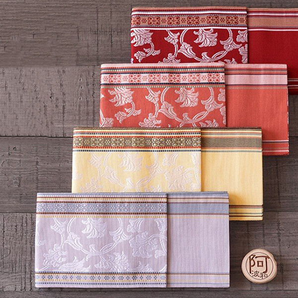 伝統工芸博多織 半幅帯の写真