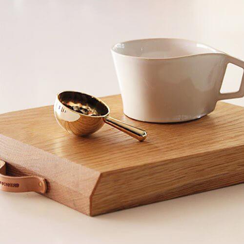 伝統技術のコーヒーメジャーの写真